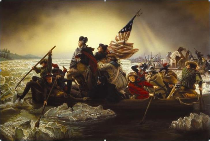Washington's Historic Courage