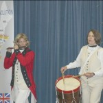 American Revolution with ARTZ OUT LOUD - pipes and drums